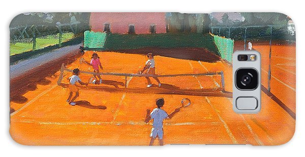 Sport Galaxy Case - Clay Court Tennis by Andrew Macara