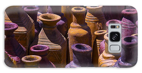 Vase Of Flowers Galaxy Case - Clay Vases by Garry Gay