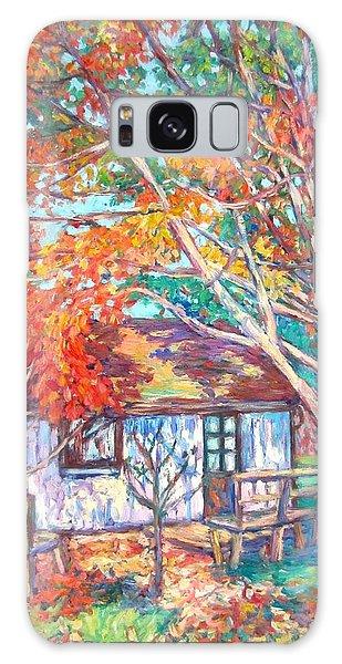 Claytor Lake Cabin In Fall Galaxy Case by Kendall Kessler