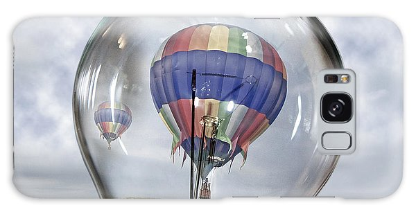 Hot Air Balloons Galaxy Case - Clear Idea by Betsy Knapp