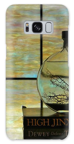 Clear On Color Galaxy Case by Jean Goodwin Brooks