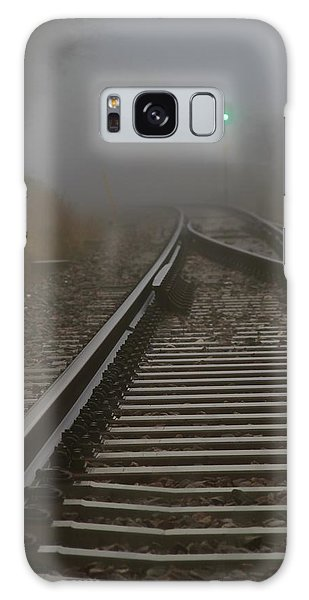 Clear Track Galaxy Case by Odd Jeppesen