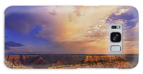 Clearing Storm Cape Royal North Rim Grand Canyon Np Arizona Galaxy Case by Dave Welling
