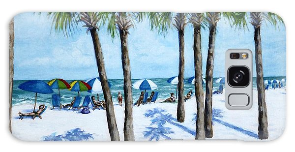 Clearwater Beach Morning Galaxy Case