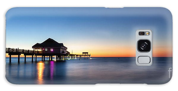 Clearwater Beach Pier Galaxy Case by Steven Reed