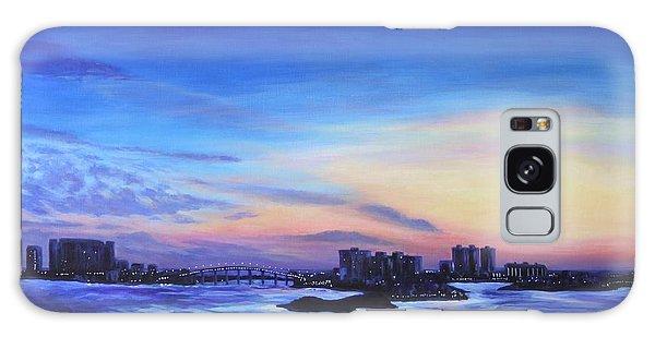 Clearwater Beach Sunset Galaxy Case