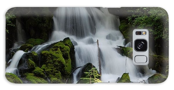 Clearwater Falls Galaxy Case