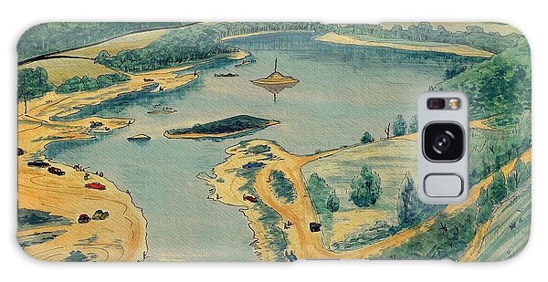 Clearwater Lake Early Days Galaxy Case by Kip DeVore
