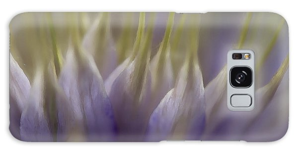 Clematis Study 3 Galaxy Case by Jeanette French