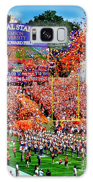 Clemson Galaxy Case - Clemson Tigers Memorial Stadium by Jeff McJunkin