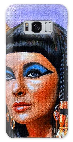 Cleopatra  Galaxy Case by Andrzej Szczerski
