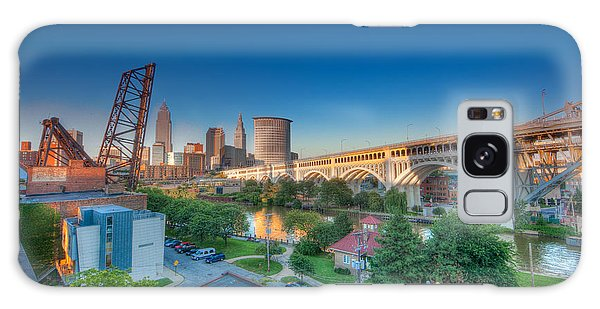 Cleveland Abstract Hdr Galaxy Case