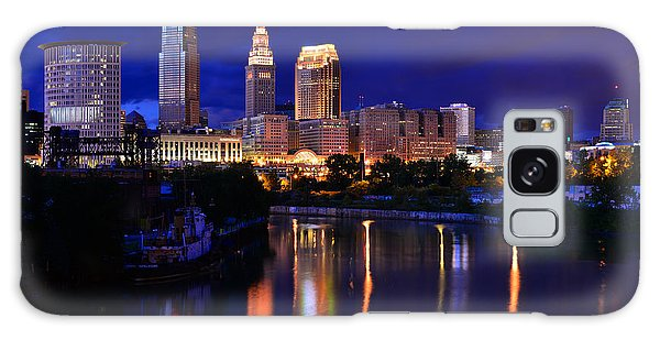 Cleveland At The River's Bend Galaxy Case