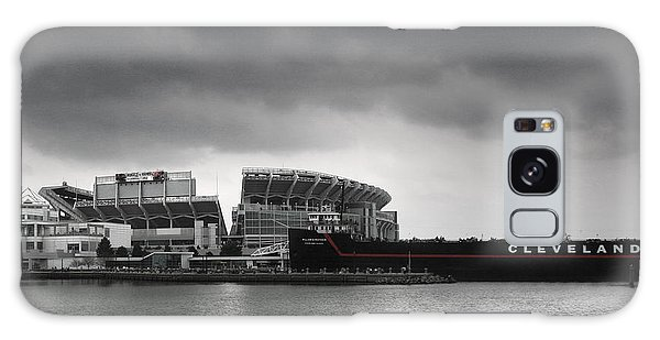 Ominous Galaxy Case - Cleveland Browns Stadium From The Inner Harbor by Kenneth Krolikowski