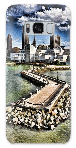 Cleveland Inner Harbor - Cleveland Ohio - 1 Galaxy Case