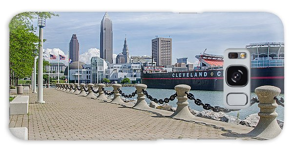 Cleveland Lake Front Galaxy Case