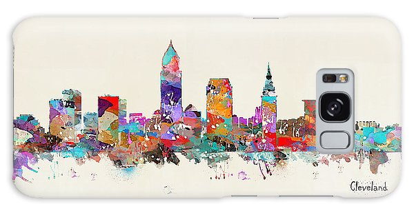 Cleveland Ohio Skyline Galaxy Case