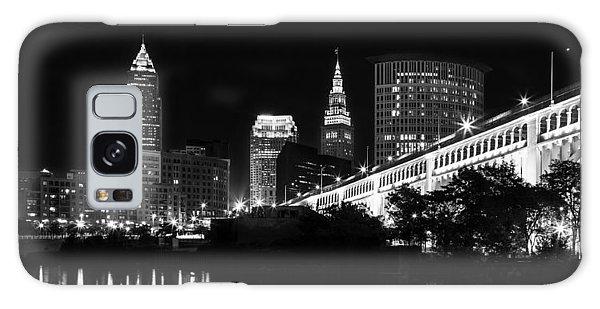 Cleveland Skyline Galaxy Case by Dale Kincaid