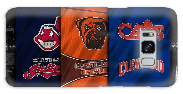 Basketball Galaxy Case - Cleveland Sports Teams by Joe Hamilton