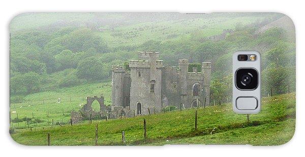Clifden Castle Connemara Ireland Galaxy Case by Butch Lombardi