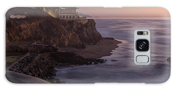 Cliff House Sunset Galaxy Case