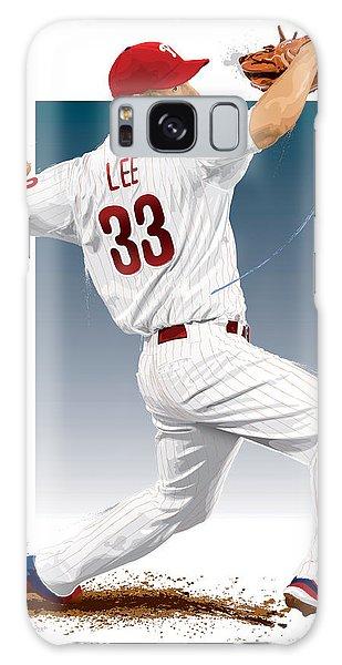 Cliff Lee Galaxy Case by Scott Weigner