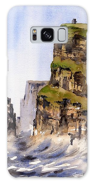 Clare   The Cliffs Of Moher   Galaxy Case