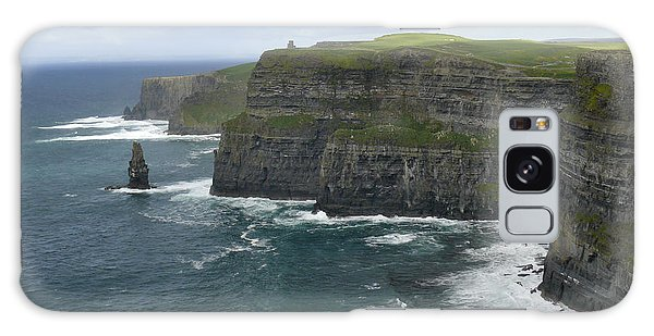 Cliffs Of Moher 3 Galaxy Case by Mike McGlothlen