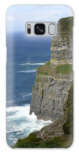 Cliffs Of Moher 7 Galaxy Case by Mike McGlothlen