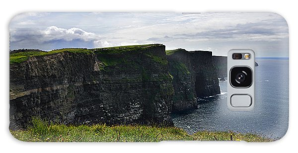Cliffs Of Moher Looking South Galaxy Case by RicardMN Photography