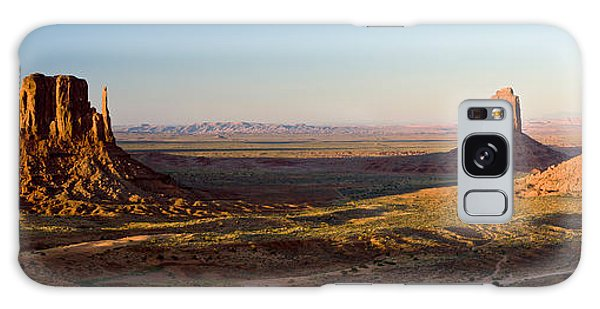 Cliffs On A Landscape, Monument Valley Galaxy Case