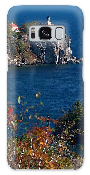 Cliffside Scenic Vista Galaxy Case by James Peterson