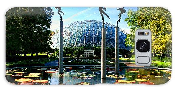 Climatron Geodesic Dome Landscape Galaxy Case