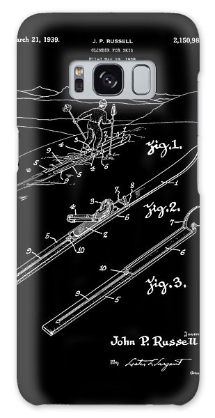 Climber For Skis 1939 Russell Patent Art Galaxy Case
