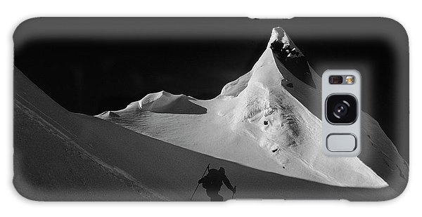 White Mountain National Forest Galaxy Case - Climbing Cardiac Pass, Wasatch by Howie Garber