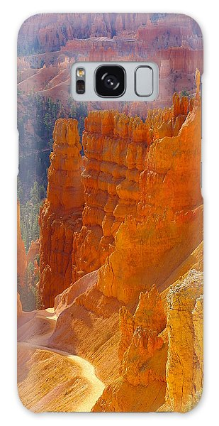 climbing out of the Canyon Galaxy Case