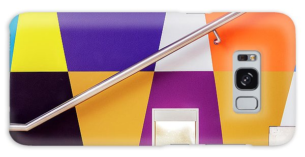 Handrail Galaxy Case - Climbing The Rainbow Stairs by Linda Wride