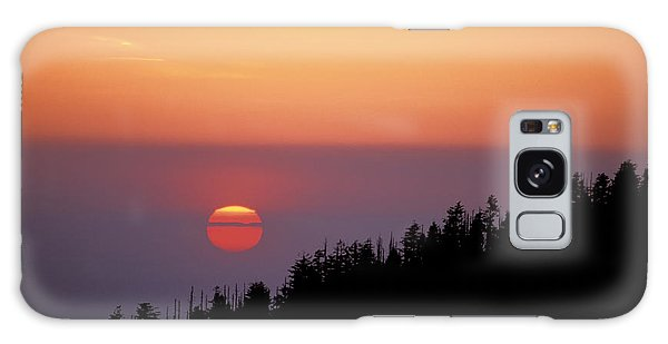 Clingman's Dome Sunset 02 Galaxy Case