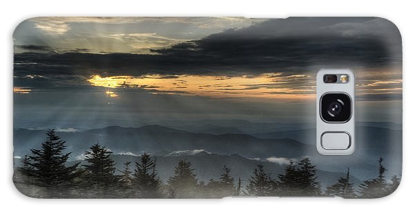 Clingman's Dome Sunset Galaxy Case