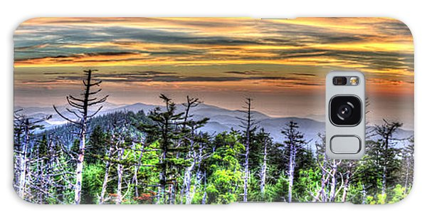 Clingmans Sunset Panoramic Galaxy Case