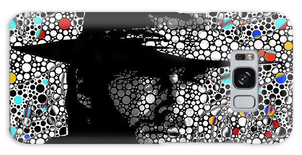 Clint Eastwood Cowboy Art Galaxy Case