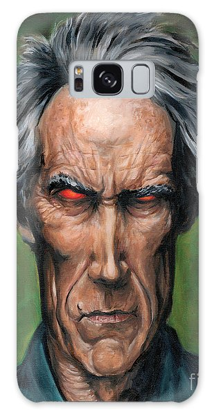 Clint Eastwood Galaxy Case by Mark Tavares