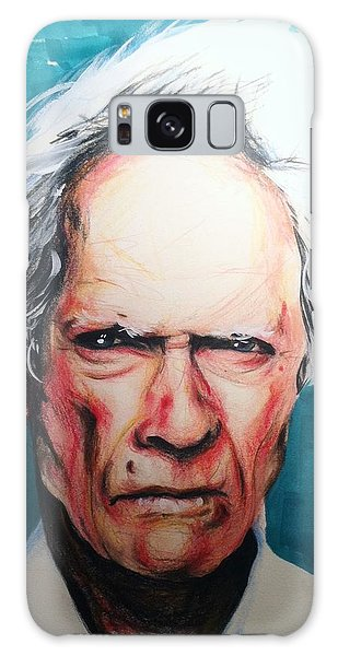 Clint Eastwood Galaxy Case by Matt Burke
