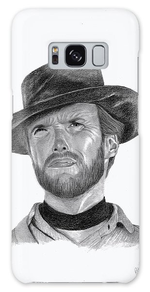 Clint Eastwood Galaxy Case by Patricia Hiltz