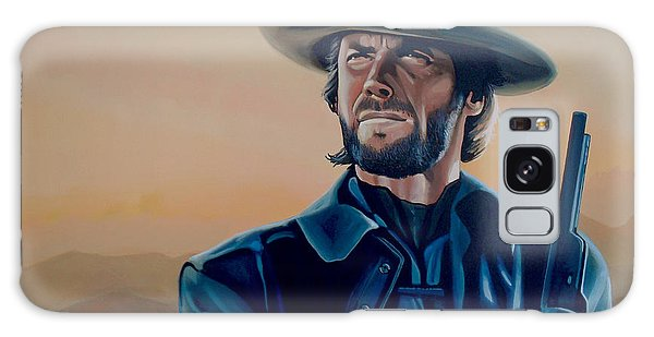 Realistic Galaxy Case - Clint Eastwood Painting by Paul Meijering