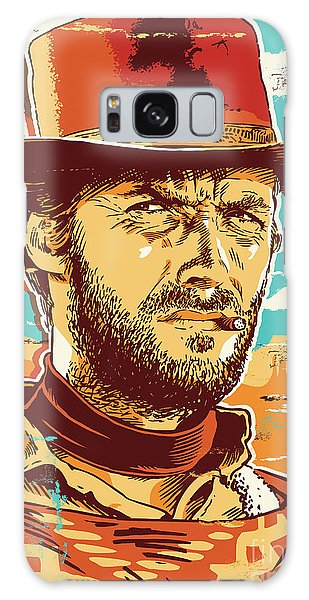 Clint Eastwood Pop Art Galaxy Case