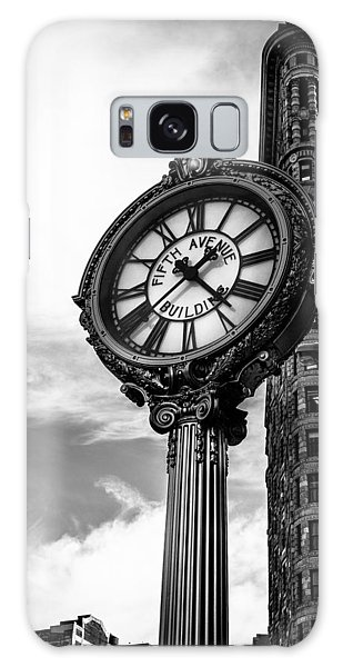 Clock Of Fifth Avenue Building Galaxy Case