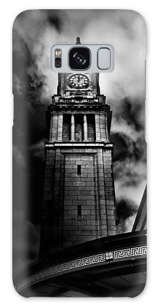 Clock Tower No 10 Scrivener Square Toronto Canada Galaxy Case