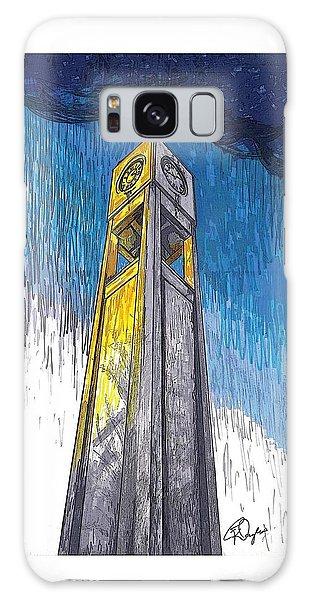 Clock Tower Galaxy Case