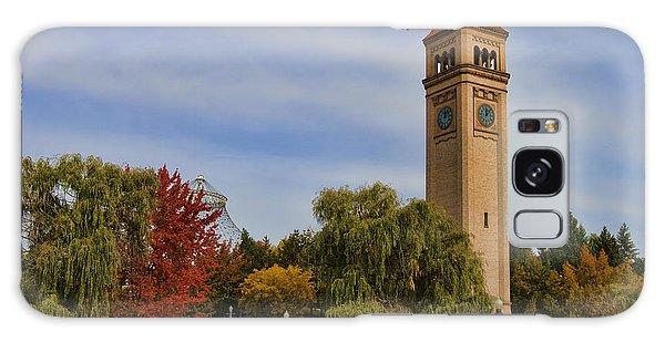Clocktower Fall Colors Galaxy Case